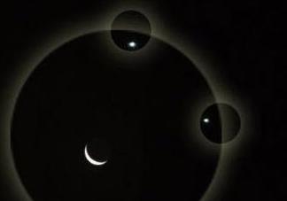 2017双星伴月是哪两颗星星 双星伴月中的双星是什么