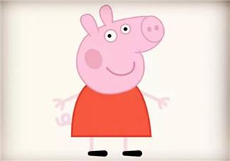 儿童简笔画小猪佩奇 小猪佩奇的简笔画